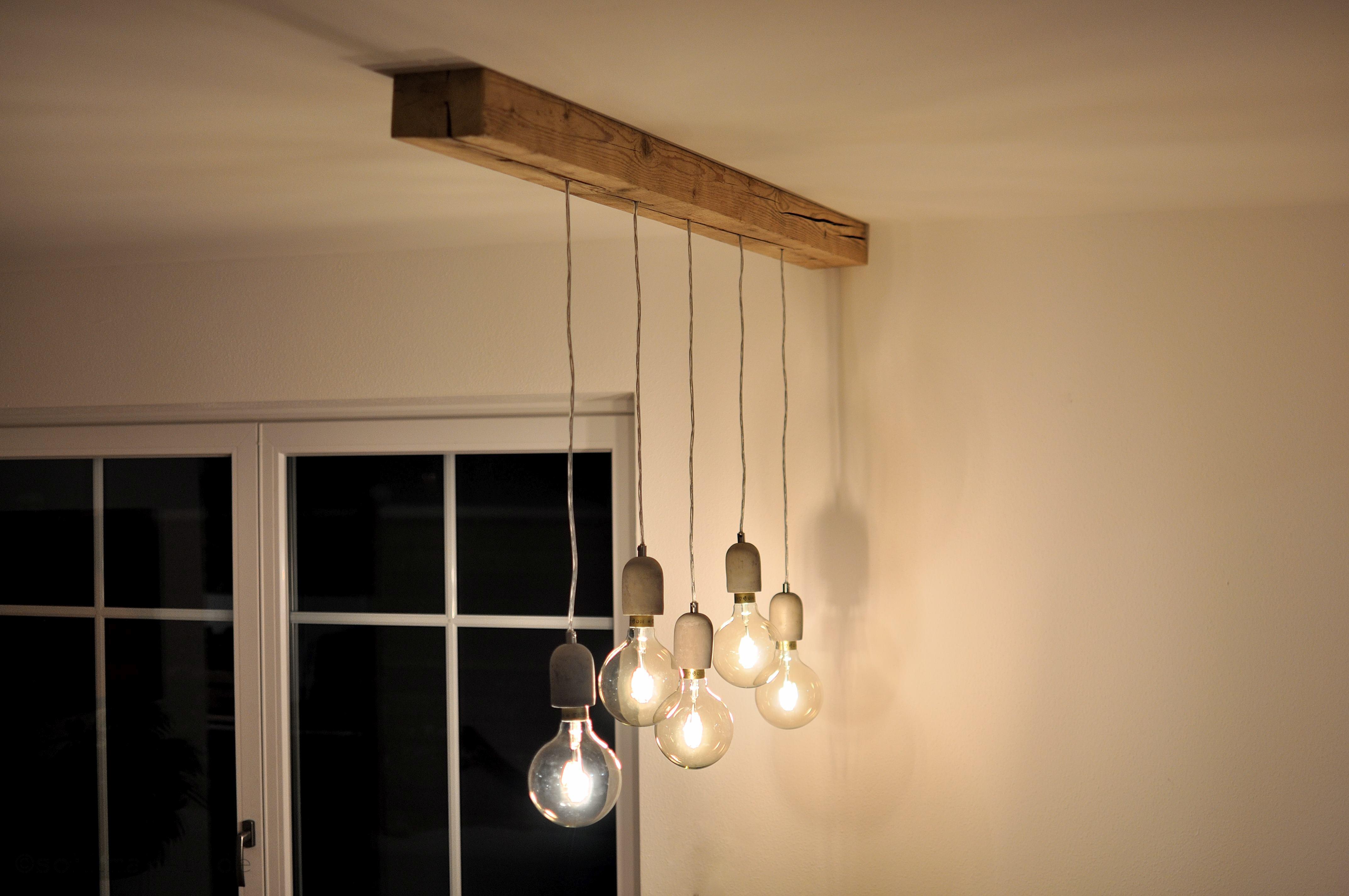 Balkenlampe Diy Sollmaker