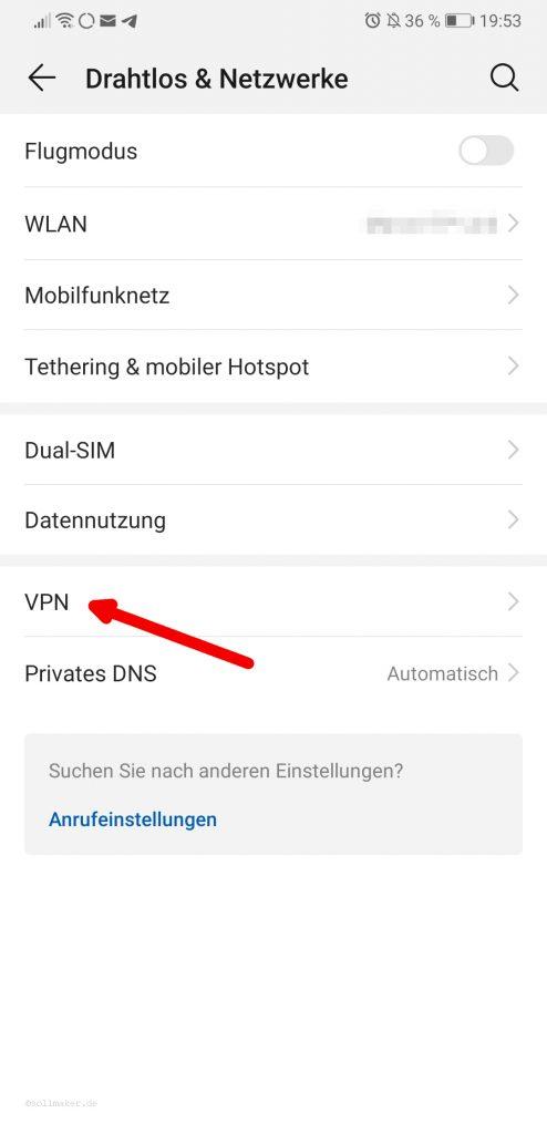 Android 9 Drahtlos & Netzwerk