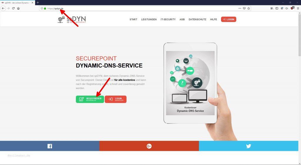 Startseite von SPDYN